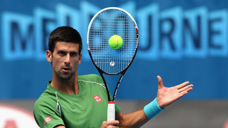Slight doubts: Djokovic's decision to appoint Becker shows his game is not in perfect shape
