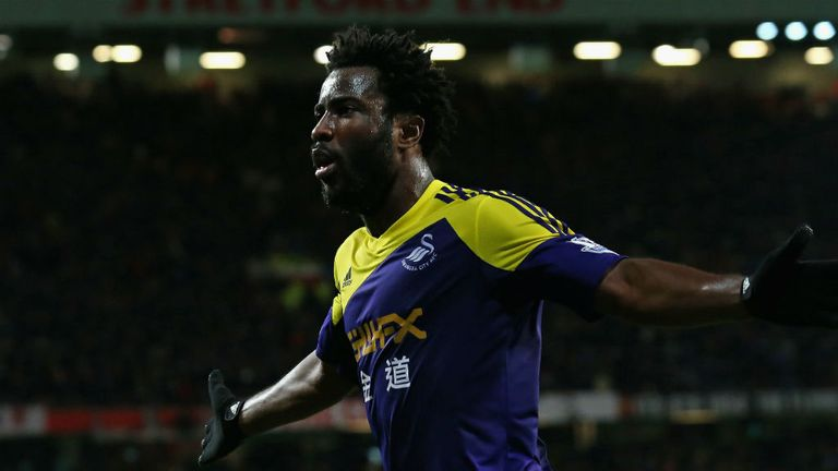Wilfried Bony: Aware that Swansea need to start picking up points