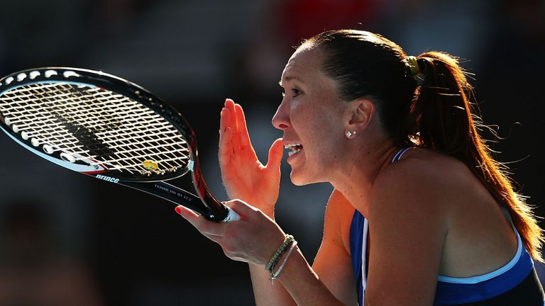 Jelena Jankovic: Was beaten in straight sets by Ekaterina Makarova