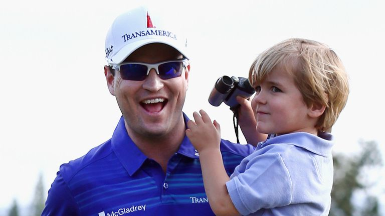 Zach Johnson: Plans to take a break and spend some time with his family