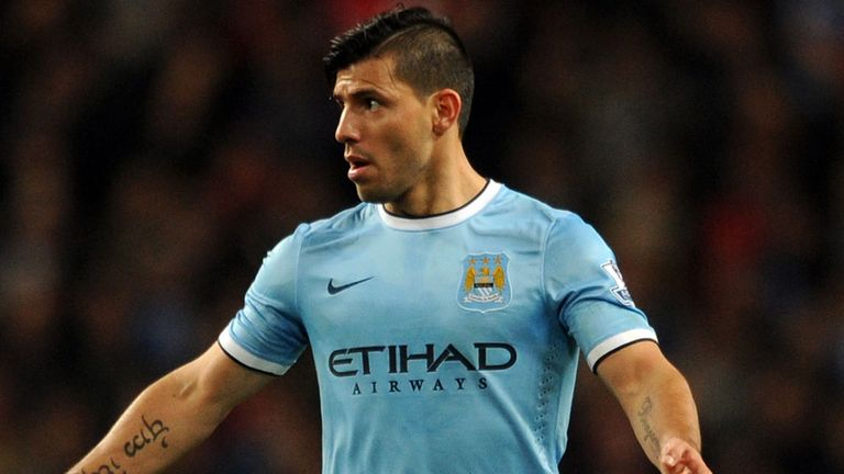 Sergio Aguero: Will be ready for Barcelona