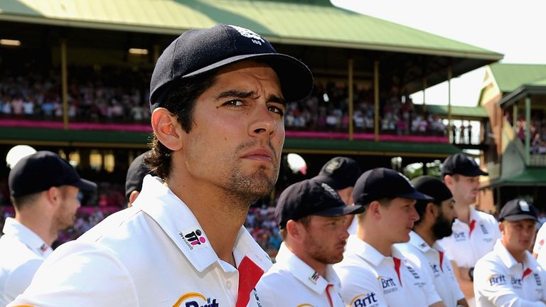 Alastair Cook: The England captain has urged hopefuls to prove themselves in the County Championship.
