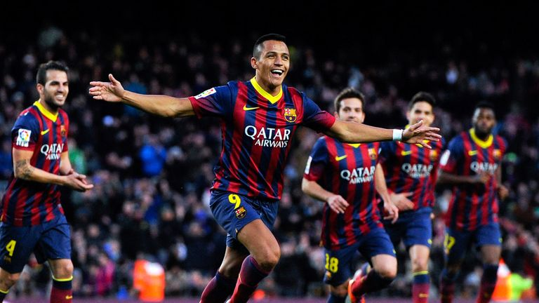 Alexis Sanchez: Scored hat-trick in Barcelona win