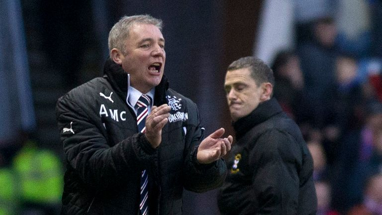 Ally McCoist: Impressed by David Templeton's form