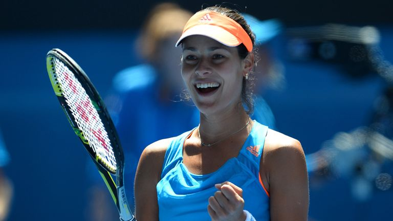 Ana Ivanovic: Needed little more than an hour to topple Aleksandra Wozniak