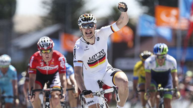 Andre Greipel has amassed an impressive 12 wins already this year