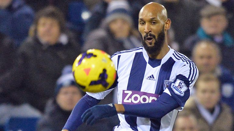 Nicolas Anelka: Has scored two goals this season, both against West Ham in December