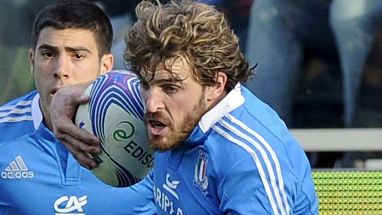 Mirco Bergamasco: Back in Italy squad for 2014 6 Nations