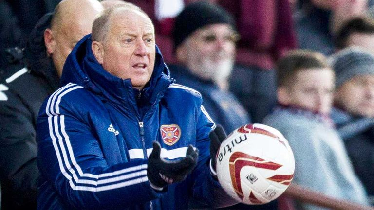 Billy Brown: Hearts assistant boss remains confident of avoiding relegation