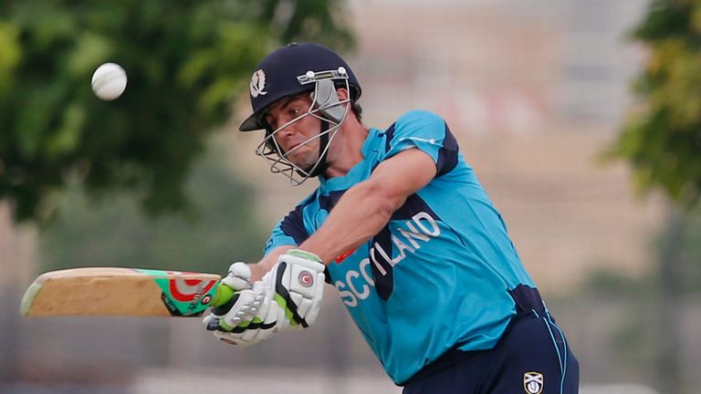 Calum MacLeod: match-winning knock for Scotland