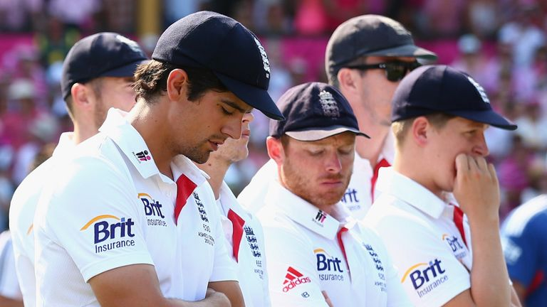 Sports pyschologist says England have been left shattered after Ashes humiliation
