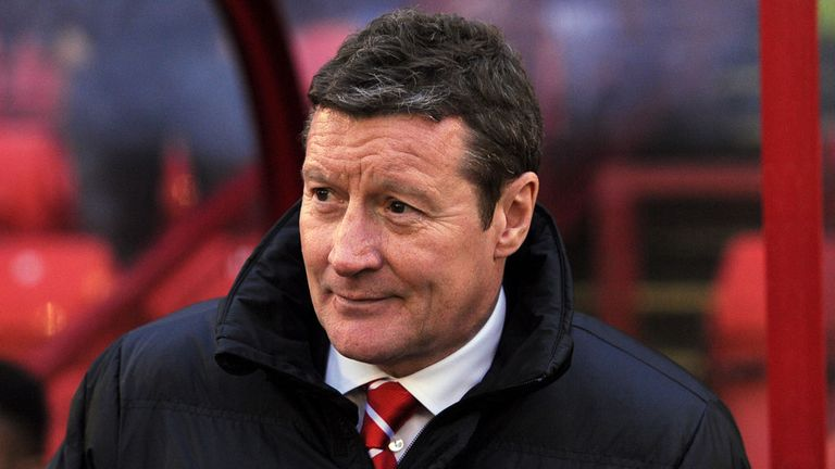 Danny Wilson: Feels 'let down' by the referee
