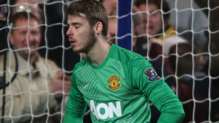 David de Gea: Manchester United goalkeeper blundered against Sunderland