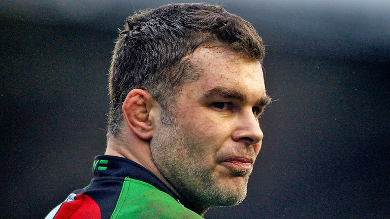 Nick Easter: Helped Quins to four wins in December