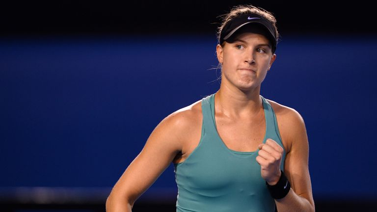 Eugenie Bouchard: Canadian will play Andrea Petkovic in Family Circle Cup semi-finals