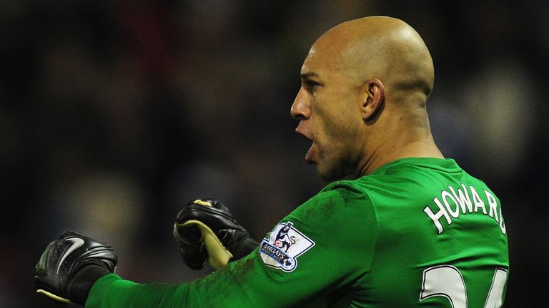Tim Howard: Enjoying new regime