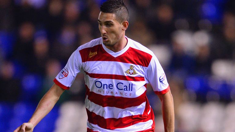 Federico Macheda on Doncaster duty