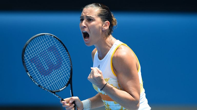 Flavia Pennetta: Enjoying an Indian summer to her long career