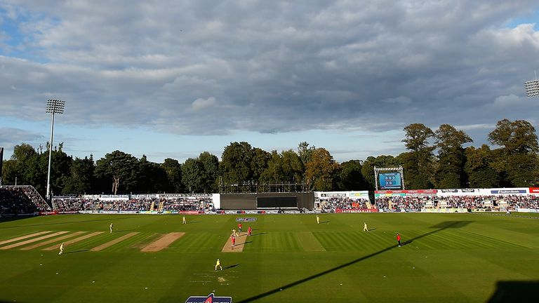 Glamorgan's SWALEC stadium