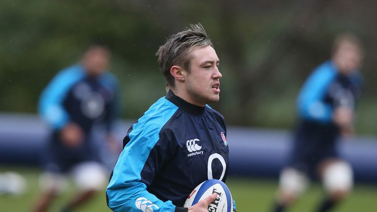 Jack Nowell: Making his England debut in Paris