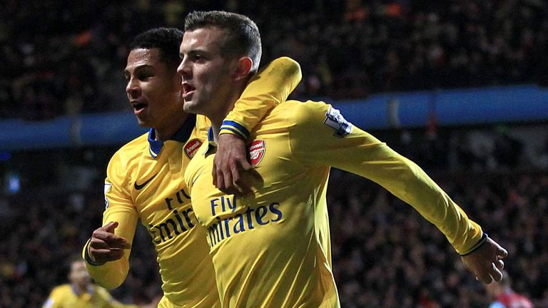 Jack Wilshere: Arsenal midfielder happy to be top of the table