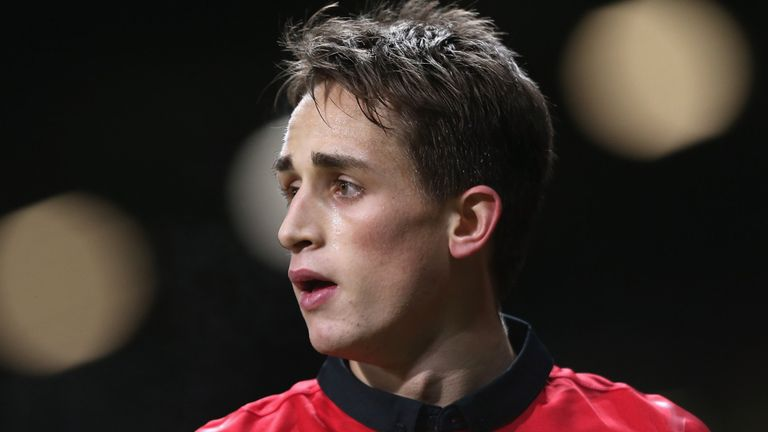 Adnan Januzaj: Yet to represent an international side