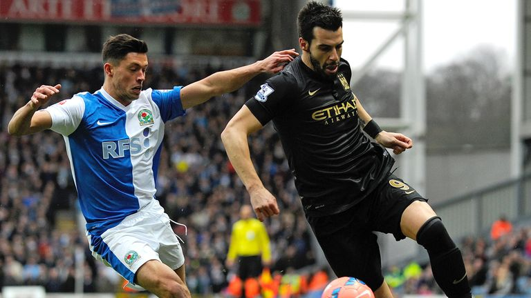 Alvaro Negredo in action against Blackburn on Saturday