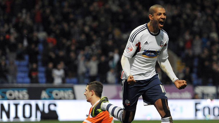 Jermaine Beckford: Celebrates settling FA Cup clash