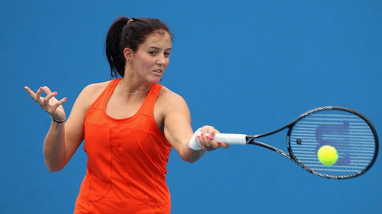 Laura Robson says her wrist feels good at the moment