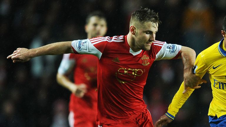 Luke Shaw: Has impressed for Southampton this season