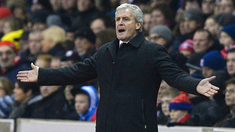 Mark Hughes: Happy with how his side played