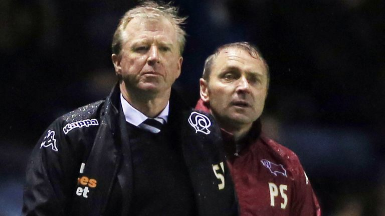 Steve McClaren: Slammed the referee's decision