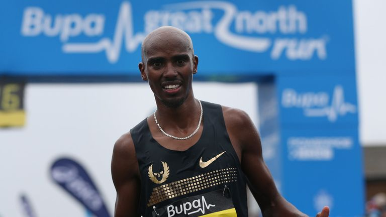 Mo Farah: Competing in first full marathon in London