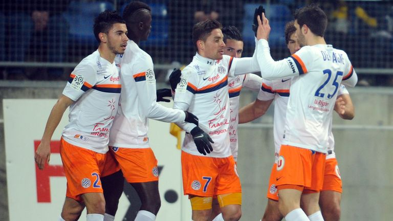 Montpellier: Celebrate Anthony Mounier's goal