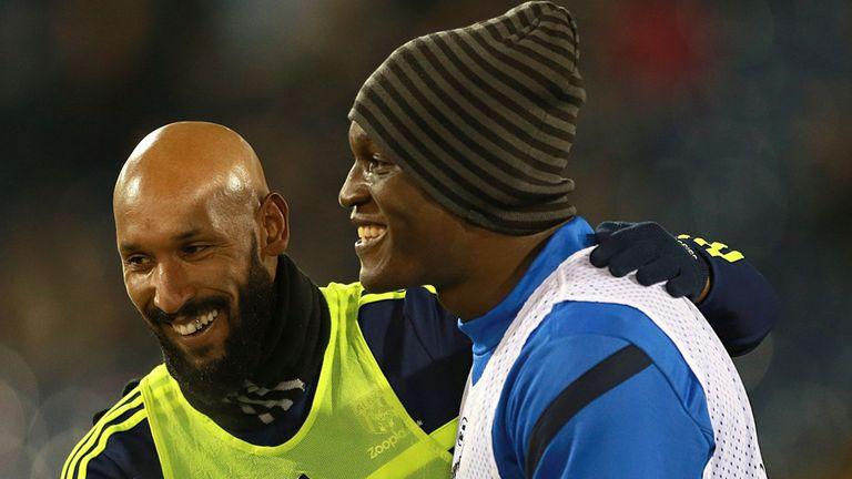Nicolas Anelka: West Brom striker started against Everton
