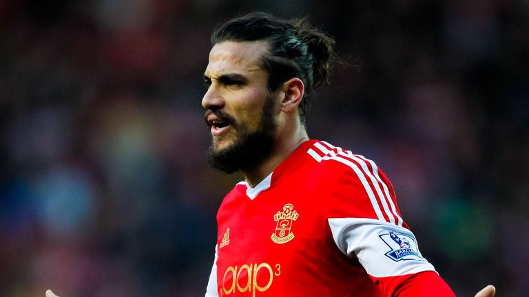 Dani Osvaldo: Fined £40,000 and suspended for three games