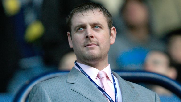 Darragh MacAnthony: Supporting Posh manager