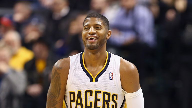 Paul George led the scoring the Pacers on Saturday with 36 points against the Clippers