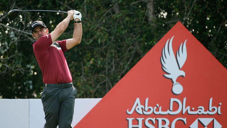 McGinley: just one off the lead after the first day