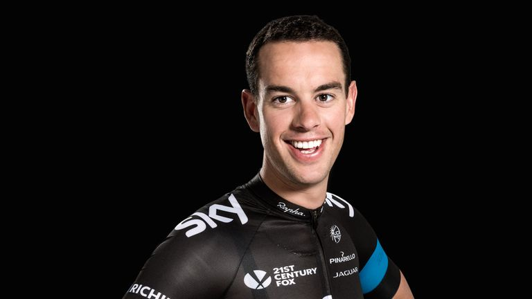 Richie Porte is set to lead Team Sky at the Giro d'Italia