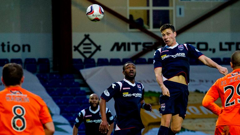 Filip Kiss: Scored twice as Ross County cruised to 3-0 win over Dundee United