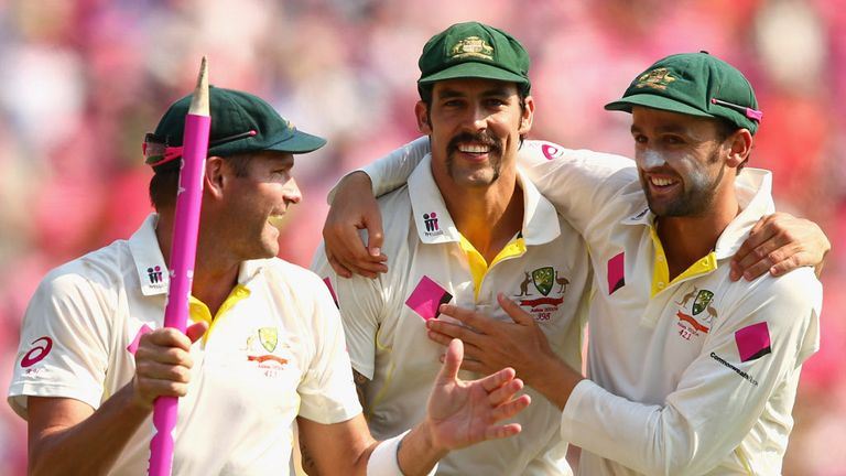 Mitchell Johnson (C): Was named man of the series in Ashes whitewash