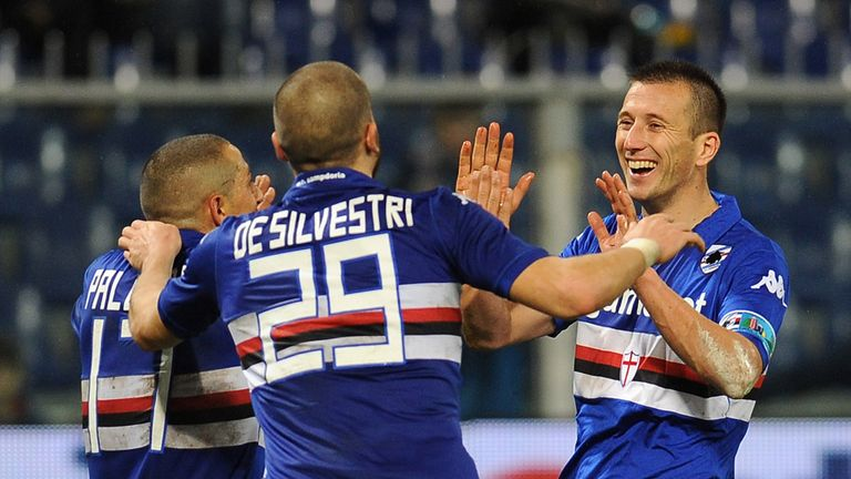 Sampdoria proved too good for Udinese