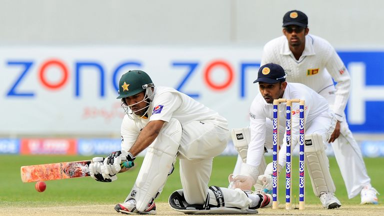 Sarfraz Ahmed: Helped Pakistan build up a lead of 107 runs against Sri Lanka