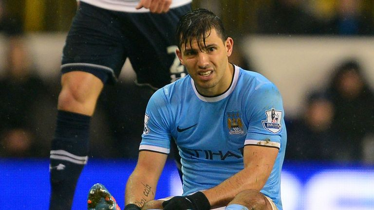 Sergio Aguero: Returned from a month out earlier in January
