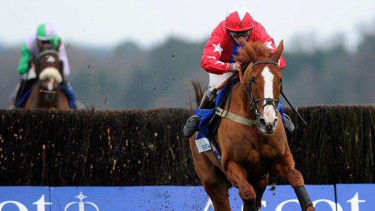 Sire De Grugy: Worked at Plumpton