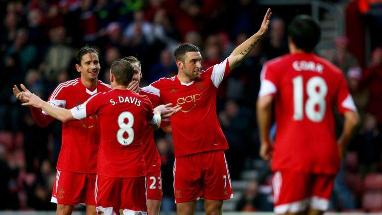 Rickie Lambert: On target for Southampton