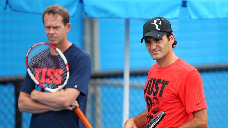 Stefan Edberg and Roger Federer have parted ways after two years