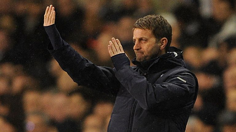 Tim Sherwood: Saw 10-man Tottenham well beaten on home soil