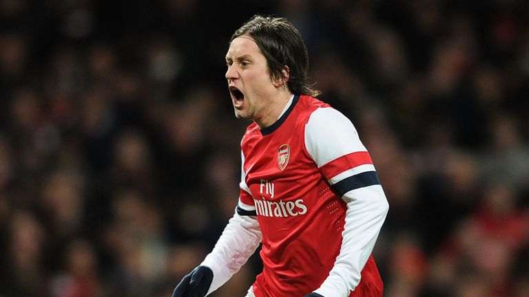 Tomas Rosicky: Joined Arsenal in the summer of 2006